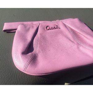 Coach clutch pink new